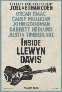 Inside Llewyn Davis coming soon poster