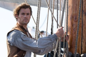 """Caption: CHRIS HEMSWORTH as Owen Chase in Warner Bros. Pictures' and Village Roadshow Pictures' action adventure """"IN THE HEART OF THE SEA,"""" distributed worldwide by Warner Bros. Pictures and in select territories by Village Roadshow Pictures."""